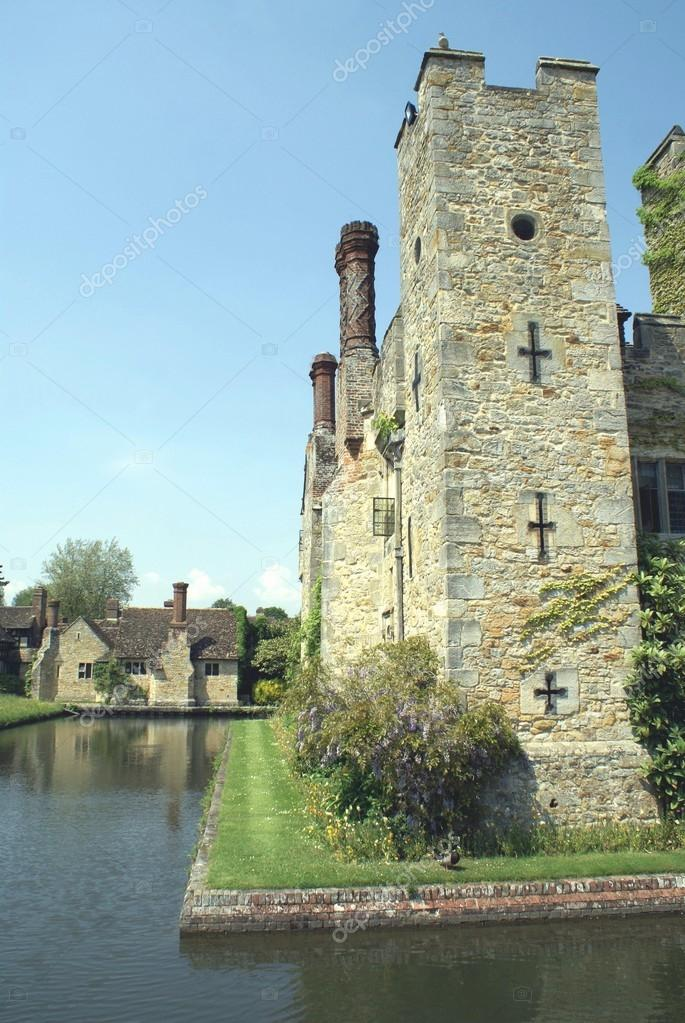 Tower Of A Moated Castle England Stock Photo C Rose4 87706266