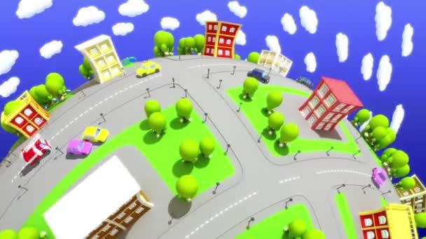 Kreslený město 1