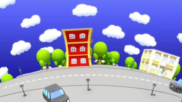 Kreslený město 2