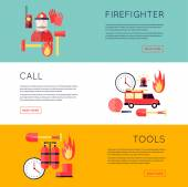 Fotografie Hasič, oheň, zavolejte hasiče