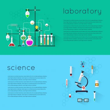 Laboratory workspace and science equipments