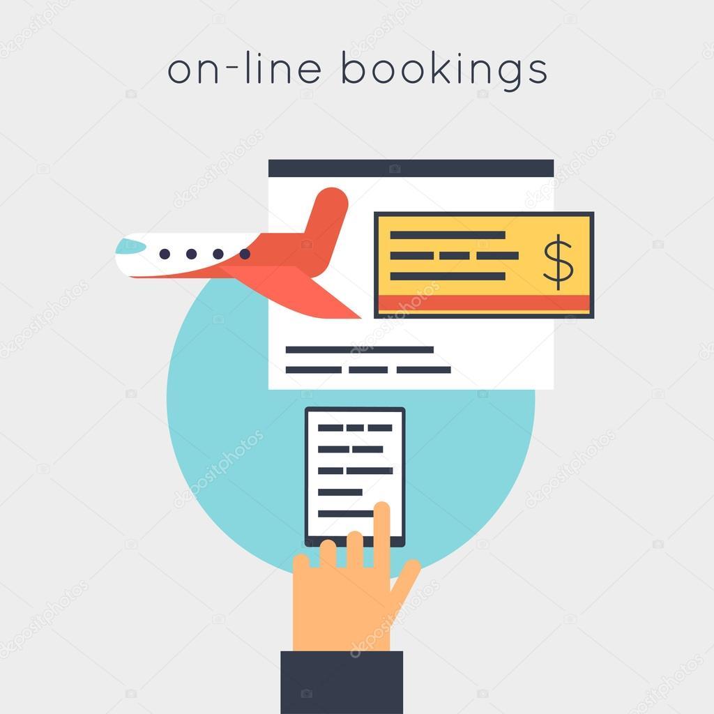 online vliegtickets boeken