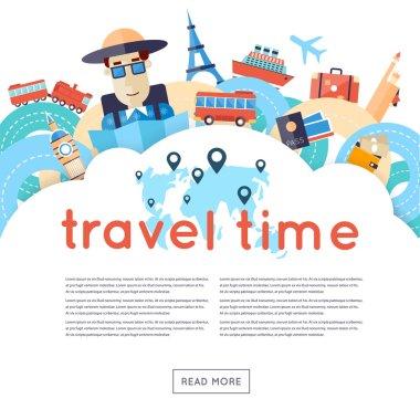World Travel. Planning summer vacations