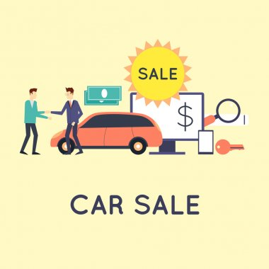 Buying and selling a car