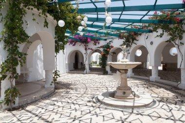 Kalithea Springs in Rhodes, Greece