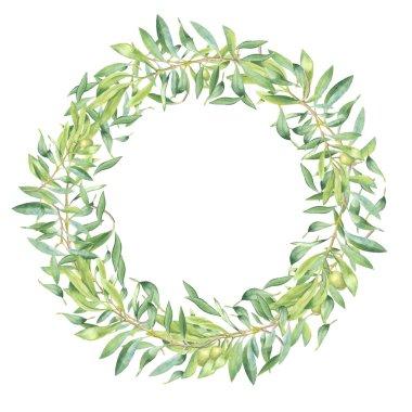 olive branch frame