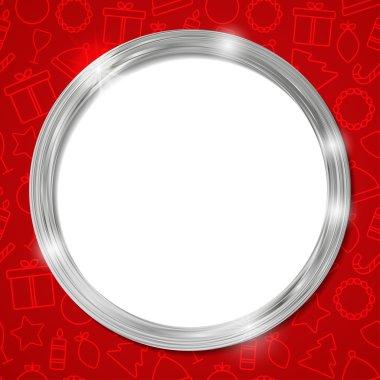 glow luxury circle frame