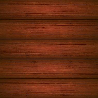 Dark brown wooden planks