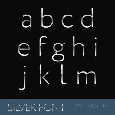 Thin silver font - part 2