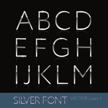 Thin silver font - part 5