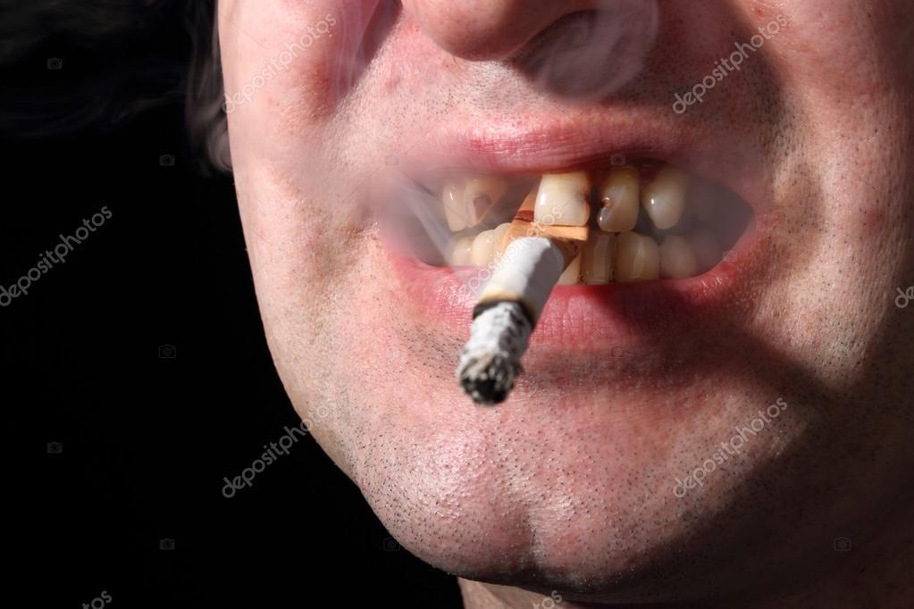 Woman smoking outside 2 6