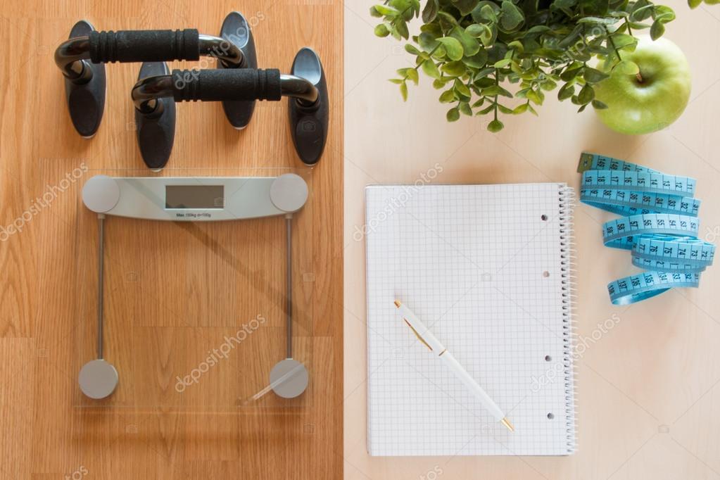 tabella di perdita di peso di misura di nastro