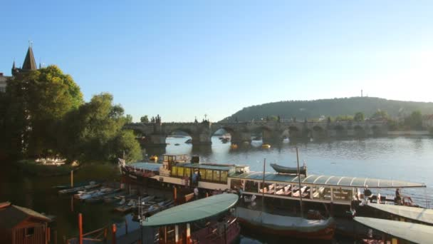 Praha, Česká republika - 25.09.2016: historickém centru Prahy, starověké architektury