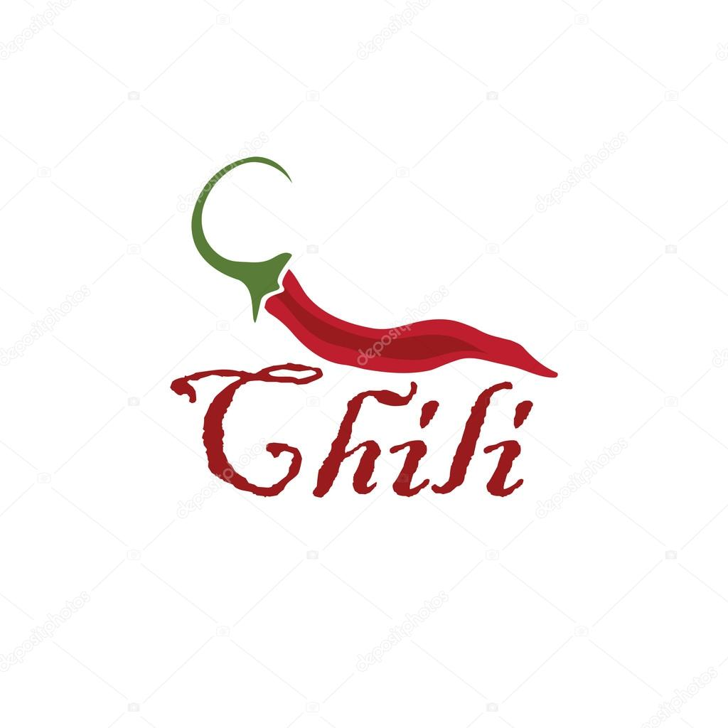 hot chili pepper vector design template