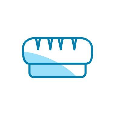 Illustration Vector graphic of bread icon template icon