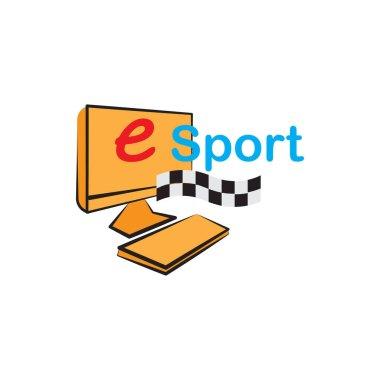Illustration Vector graphic of e sport icon icon