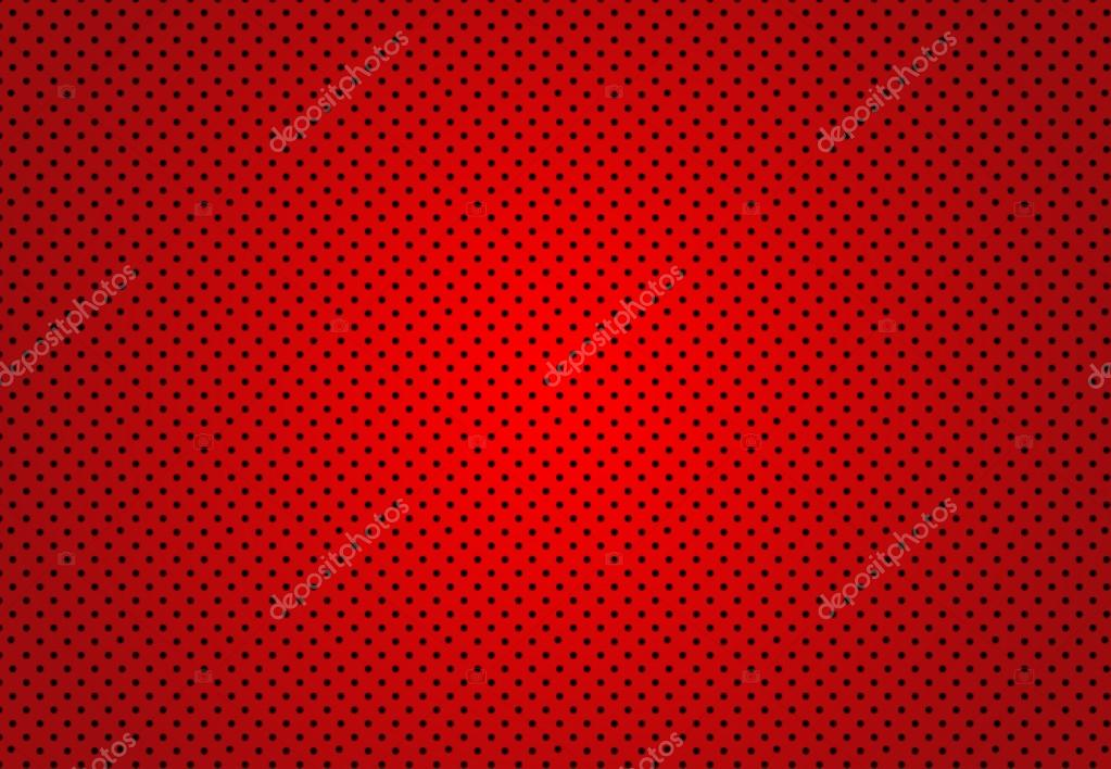 Abstract Red Polka dots background Christmas Valentines layout d