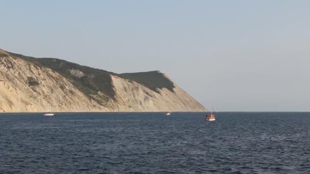 pobřeží Černého moře. Plešatý rock mountain