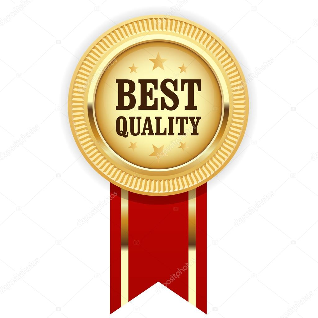 a3c5ac5a0 Foto: mejor calidad   Medalla de oro mejor calidad con cinta roja ...