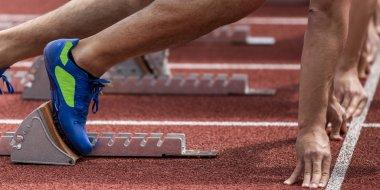 Sprintstart in track