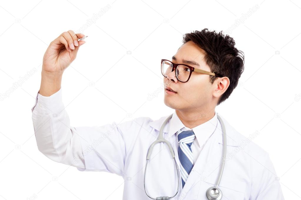 Opinion Asian male doctor