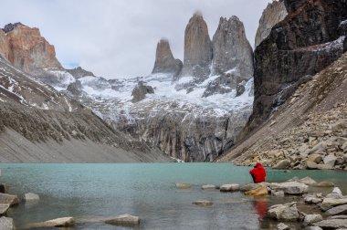 """Картина, постер, плакат, фотообои """"три torres в parque nacional Торрес-дель-Пайне, Чили"""", артикул 53276137"""