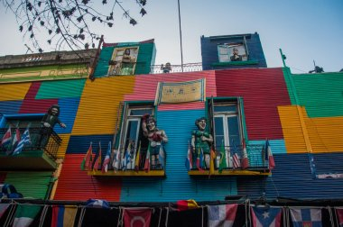 La Boca colorful houses neighborhood, Buenos Aires, Argentina