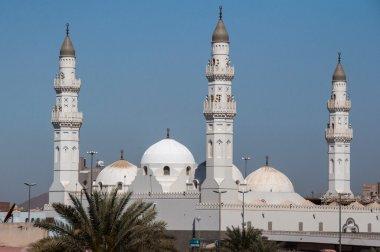 Quba Mosque in Al Madinah, Saudi Arabia