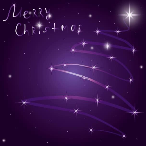 világító karácsonyi üdvözlőlap
