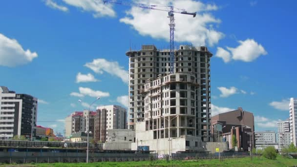 Felhőkarcoló építése