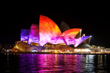 Sydney Opera House at the Vivid festival