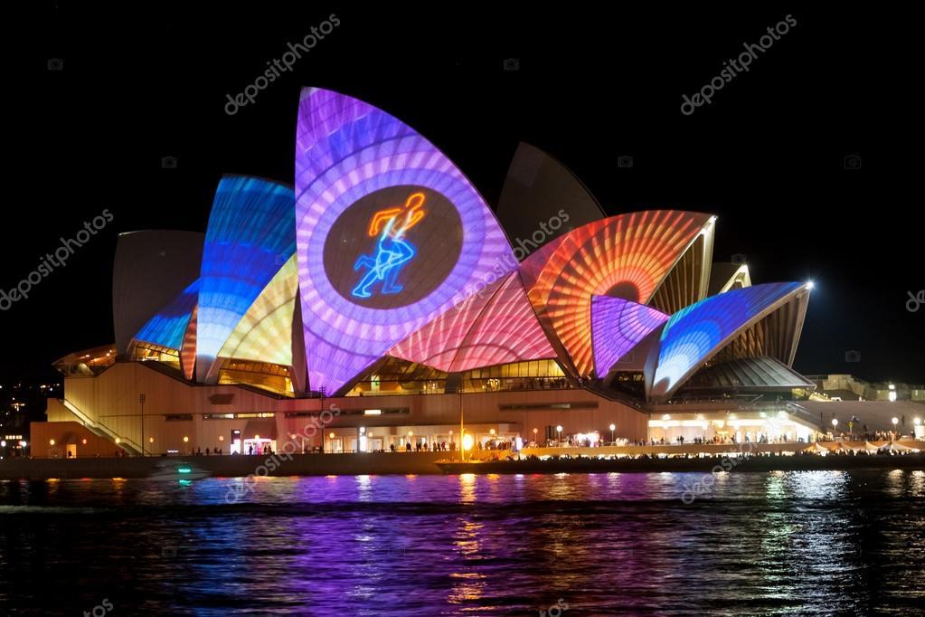 Sydney Opera House at the Vivid festival