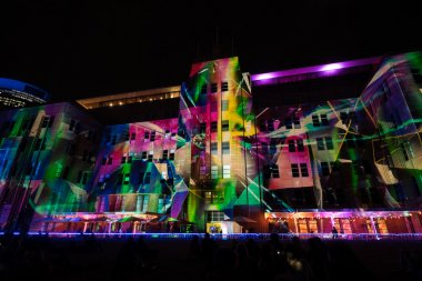 Sydney contemporary museum of Arts on Vivid festival 2015