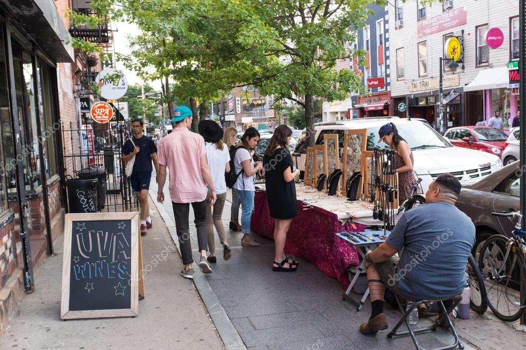 Trendy Williamsburg in Brooklyn – Stock Editorial Photo