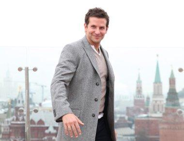 Bradley Cooper. Moscow. promo-tour