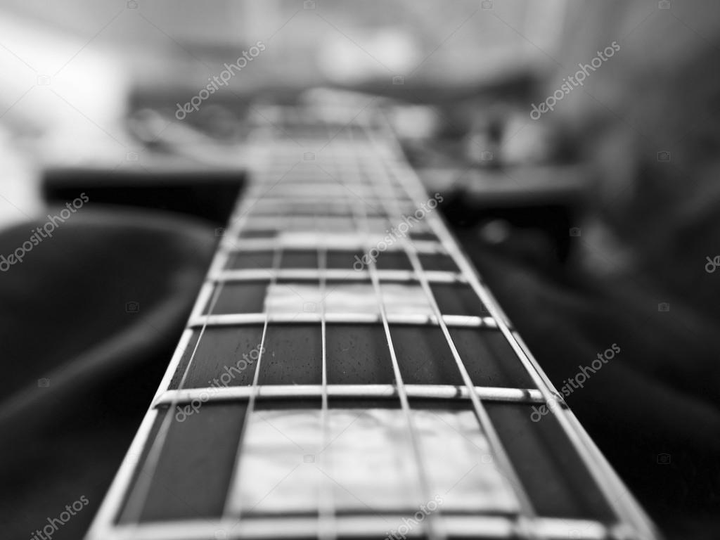 Guitarras Acusticas Wallpapers Blanco Y Negro Primer Plano
