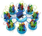 Online meetings in the design of the information related to the communication business people