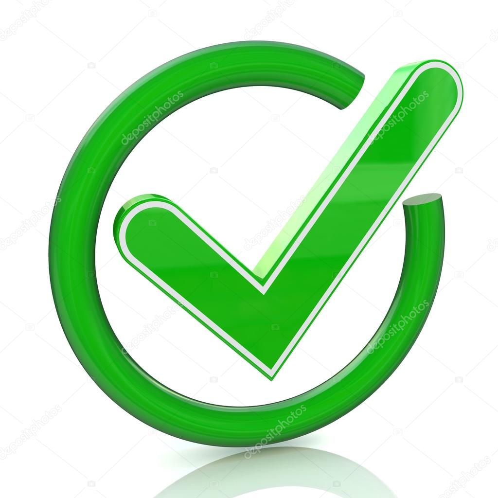 Green tick sign icon 3d glass check mark symbol stock photo green tick sign icon 3d glass check mark symbol in the design of the information related to the confirmation photo by terminator3d biocorpaavc Image collections