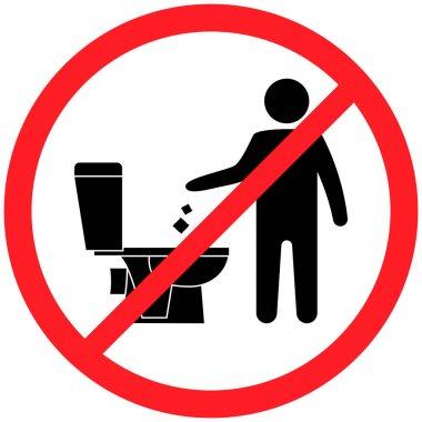 ✓ do not flush free vector eps, cdr, ai, svg vector illustration graphic art