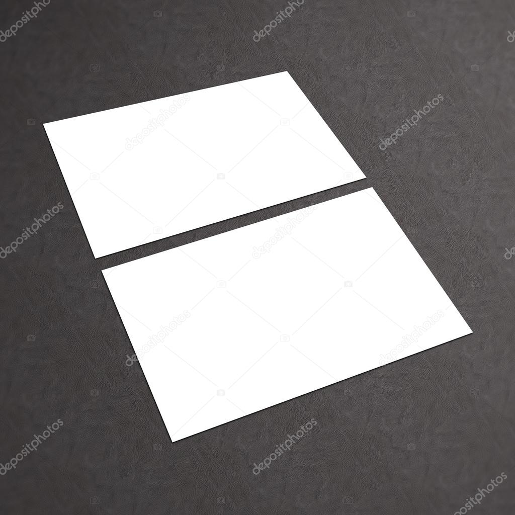 Carto branco em branco em um plano de fundo texturizado stock blank white business card collection identity blank template corporate templates company style blank business cards on a textured background foto de reheart Image collections