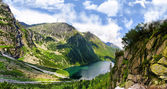 Photo Beautiful scenery of Tatra mountains in the area of Eye of the Sea