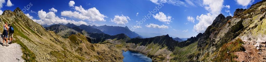 Beautiful panorama of Tatra Mountains, Świnica