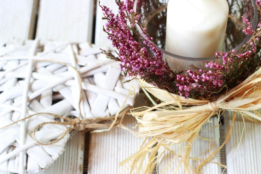 Romantische Dekoration für Zuhause — Stockfoto © insek1 #53874445