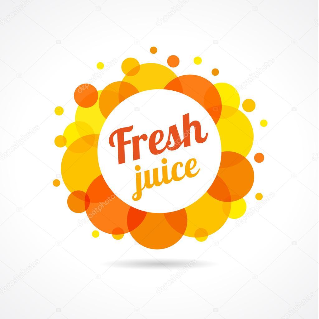 fresh juice logo � stock vector 169 koltukovalek 111001608
