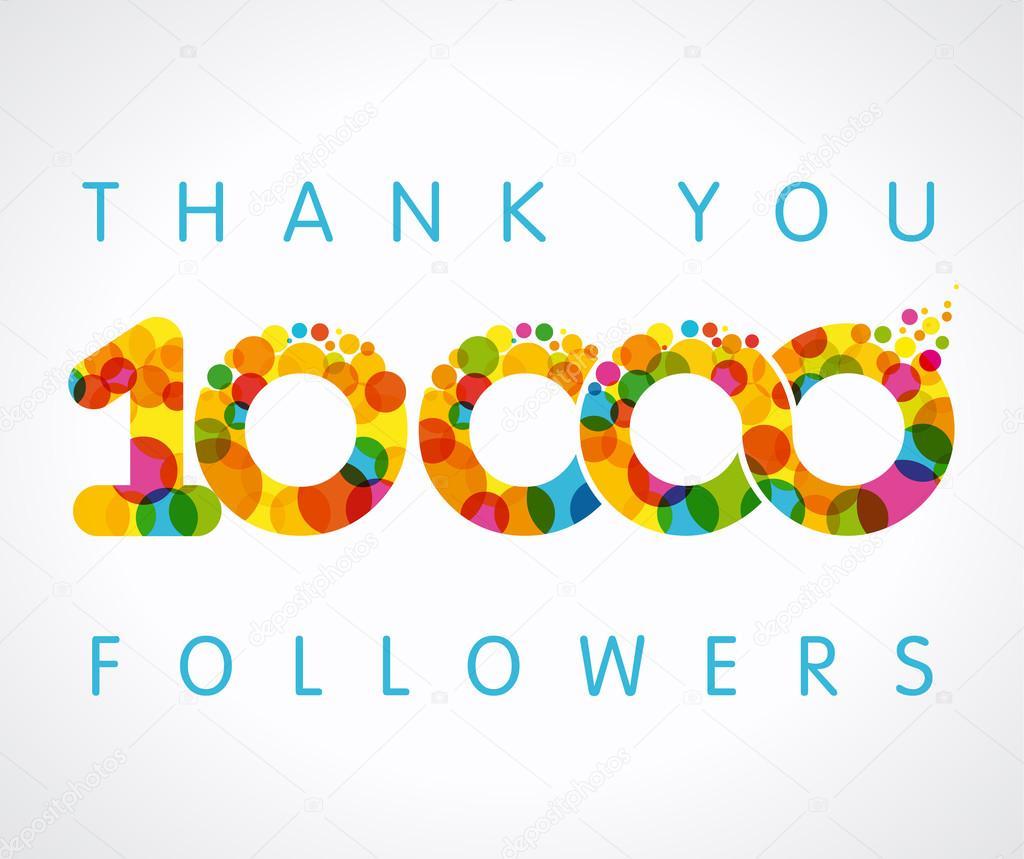 Thank you 10000 followers colo...