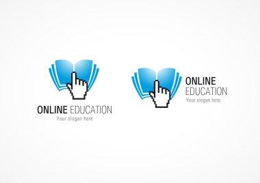 Online Education logo hand book