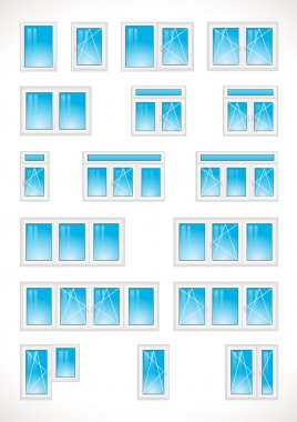 Different windows web icons.