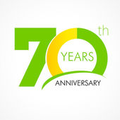 Logo zum 70-jährigen Jubiläum