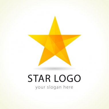 Vector star logo.