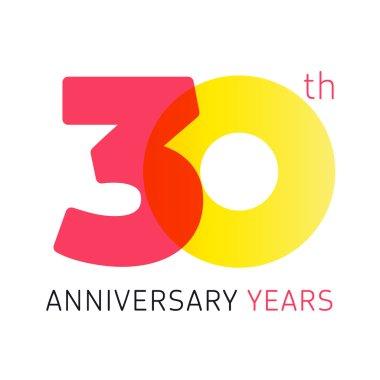 30 anniversary years logo